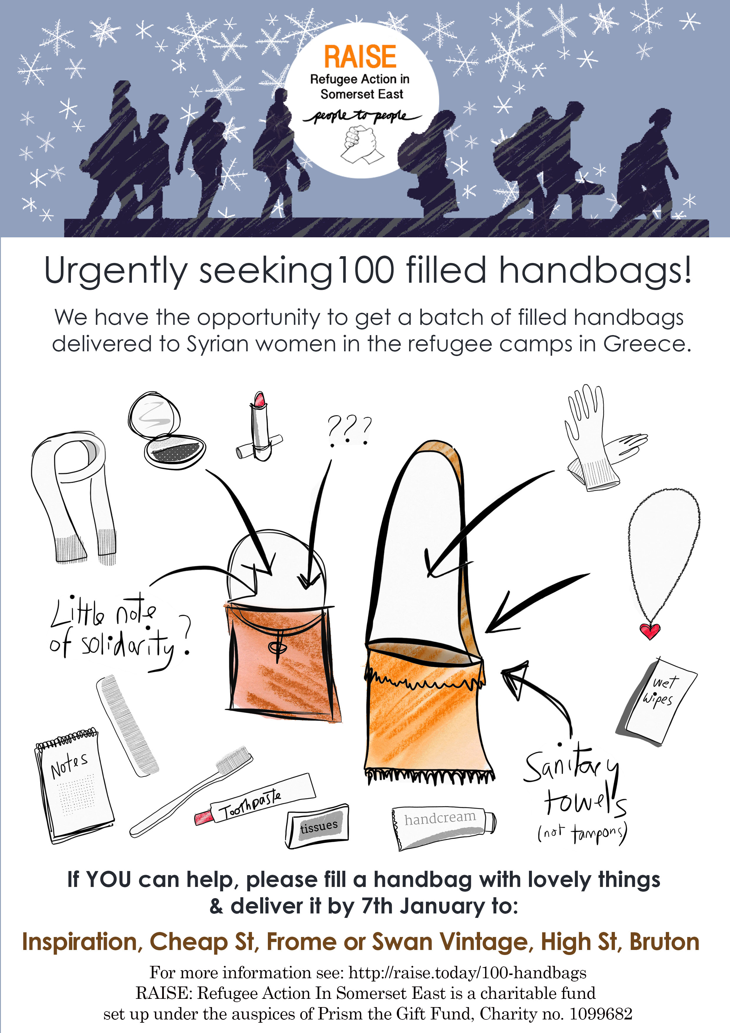 handbags raise